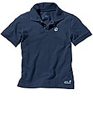 Jack Wolfskin Shirt 'Kids Polo', night-blue